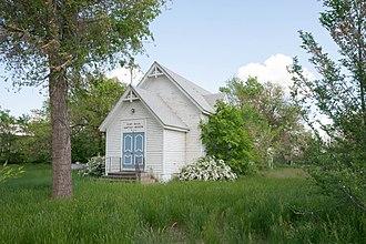 Fort Yates, North Dakota - Fort Yates Baptist Mission in Fort Yates