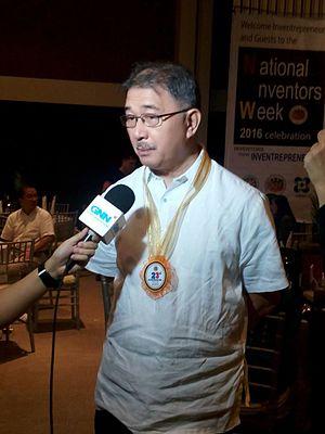 Secretary of Science and Technology (Philippines) - Image: Fortunato de la Peña