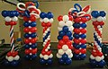 Fourth of July Balloon Columns for Tampa Bay Rays Game.jpg