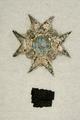 Fragment sorgkappa, broderad Serafimerorden - Livrustkammaren - 8203.tif