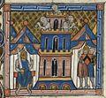 Français 2754, fol. 222v, Siège de Constantinople (1203).jpeg