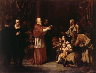 Juan de Ribera - Juan de Ribera in the expulsion of the Moriscos by Francisco Domingo Marqués.