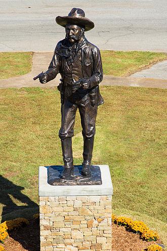 Frank Eaton - Statue of Frank Eaton on the OSUIT campus in Okmulgee, Oklahoma.
