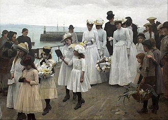 Frank Bramley - Kingdom of Heaven (1891)