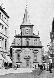 Französisch-Reformierte Kirche Offenbach 1875