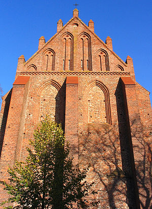 "Franzburg - Schloßkirche (""palace's church"", only remnant of the Neuenkamp Abbey"
