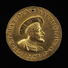 Antoine, 1489-1544, Duke of Lorraine and Bar 1508 [obverse]