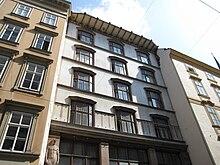 Artaria-Haus am Kohlmarkt, von Max Fabiani 1901/02 erbaut (Quelle: Wikimedia)
