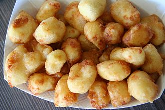 Fried cheese - Image: Fried Cheese Curds