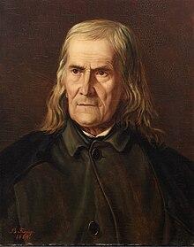 Friedrich Rückert, Bildnis von Bertha Froriep 1864 (Quelle: Wikimedia)