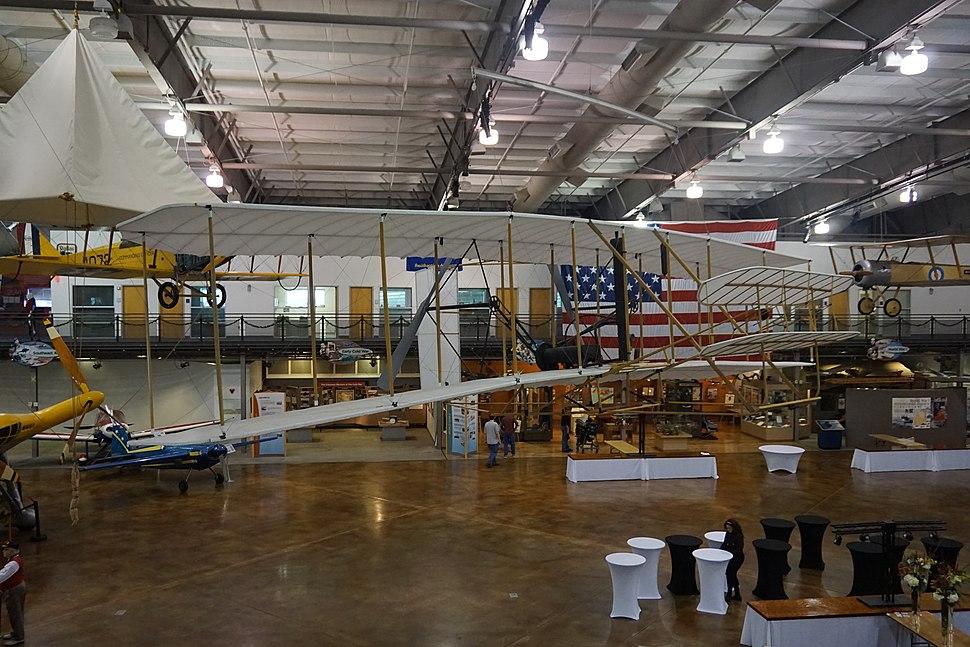Frontiers of Flight Museum December 2015 109 (1903 Wright Flyer model)