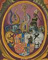 Fuggerorum et Fuggerarum imagines - 105r Wappen.jpg