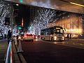 Fuji Express T1072 Chii-Bus Azabu Route at Roppongi Hills.jpg