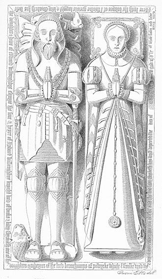 Elizabeth Willoughby, 3rd Baroness Willoughby de Broke - Image: Fulke Greville Alcester