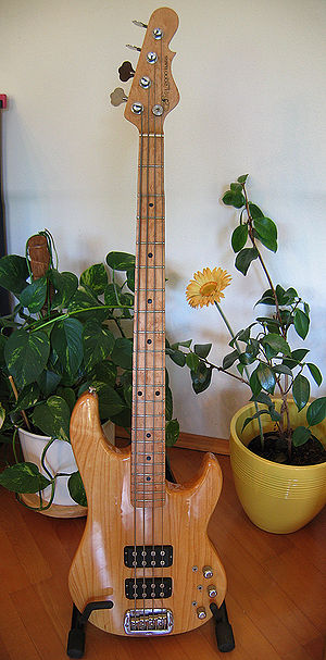 G&L Musical Instruments - Image: G&L L2000 panorama