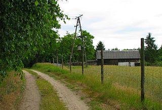 Głowin Village in Kuyavian-Pomeranian, Poland