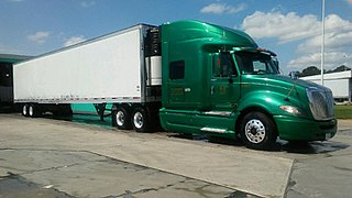 Refrigerator truck van or truck designed to carry perishable freight at specific temperatures