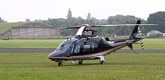 AgustaWestland AW109 - An AW109 parked on the grass