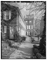 GARDEN WALK, LOOKING EAST - Samuel Powel House, 244 South Third Street, Philadelphia, Philadelphia County, PA HABS PA,51-PHILA,25-5.tif