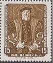 GDR-stamp De Morette Holbein 1957 Mi. 588.JPG