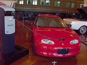 General Motors' EV1 electric car