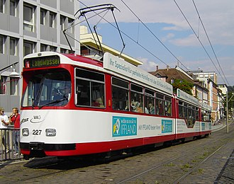 Freiburger Verkehrs AG - Image: GT8 VAG Freiburg 2