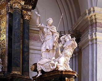 Gustaf Vasa Church - Detail altarpiece