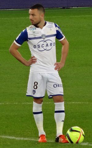 Gaël Danic - Image: Gaël Danic (SC Bastia)