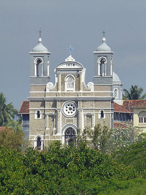 Roman Catholic Diocese of Galle - St. Mary's Cathedral, Galle