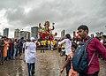 Ganapati Bisarjan at Mumbai.jpg