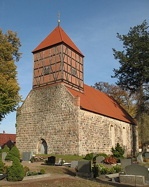 Templin - Church in Gandenitz