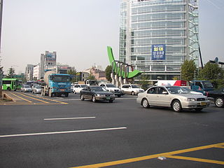Autonomous District in Sudogwon, South Korea