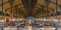 Gare Du Nord Interior, Paris, France - Diliff