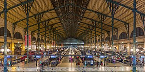 Gare du Nord - Main hall