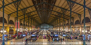 Railway station in Paris