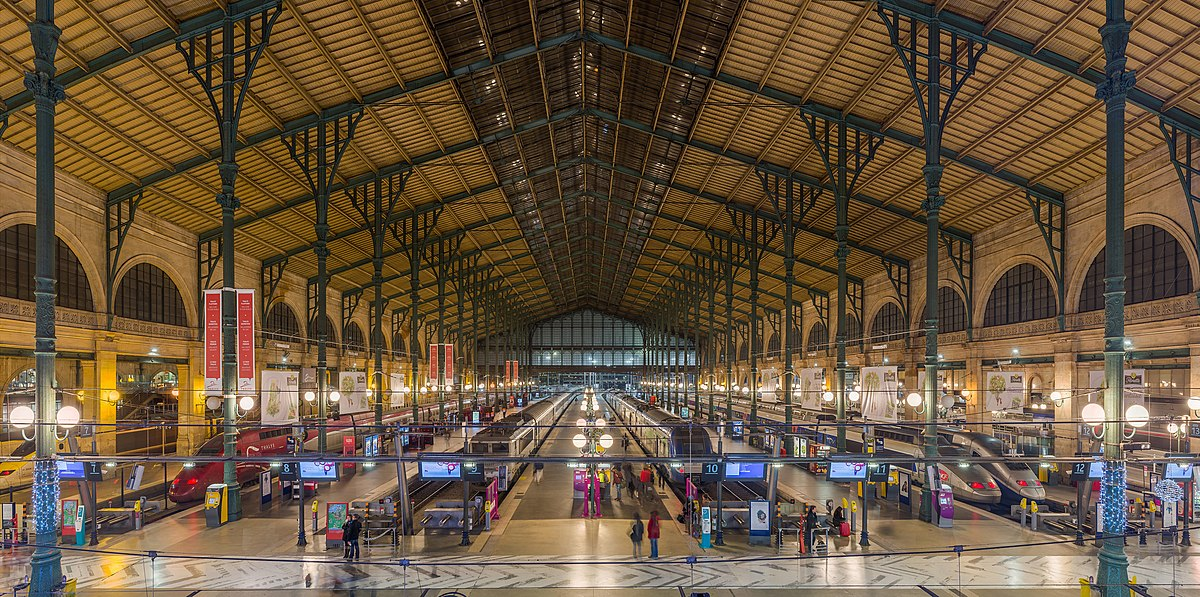 Point rencontre gare nord paris