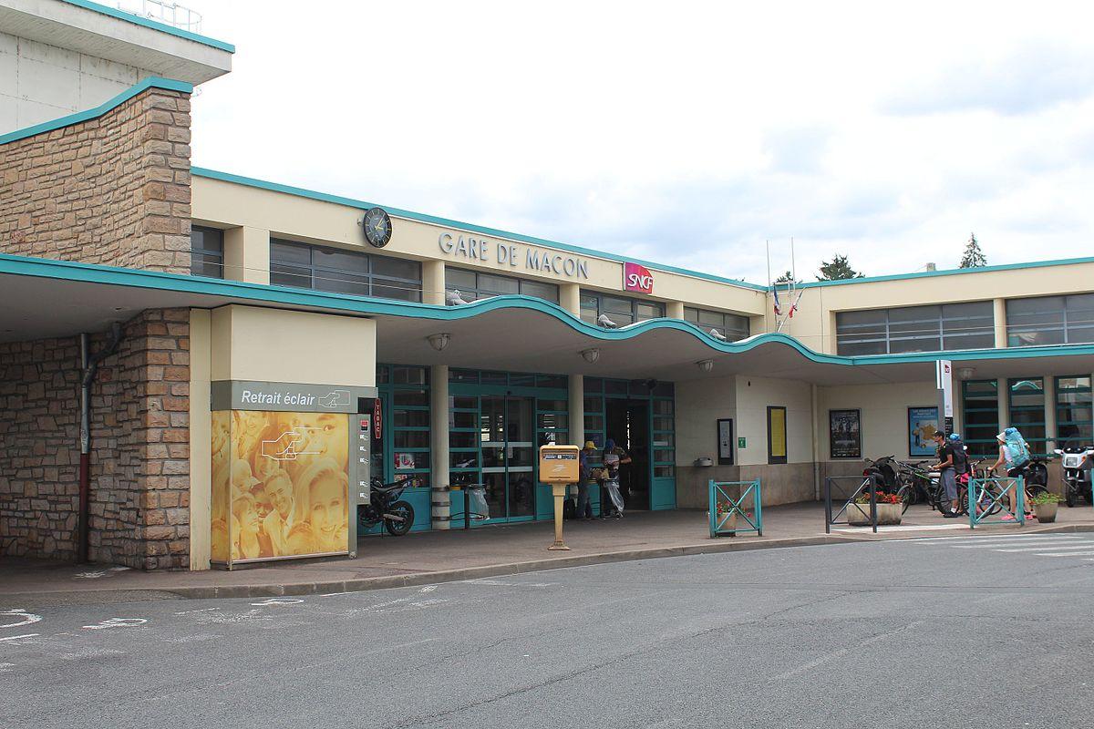 Gare de m con ville wikip dia for Garage de la gare bretigny