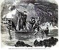Garibaldi pesca a Caprera di notte TILN 26 Jan 1861.jpg