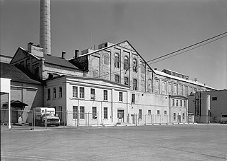 Utah-Idaho Sugar Company - The Garland factory in 1971