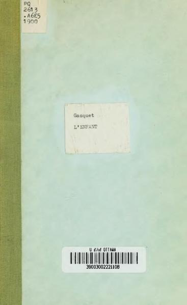 File:Gasquet - L'Enfant, 1900.djvu