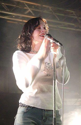 The Gathering (band) - Anneke van Giersbergen in 2003