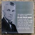 Gedenktafel Wildenbruchstr 10 (Neuk) Günter Bodek.JPG