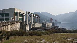 Geheyan Dam - Image: Geheyan Dam 03