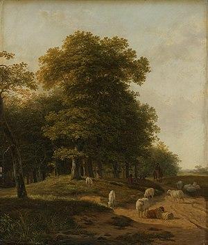 Hendrik van de Sande Bakhuyzen - Gelders landsape