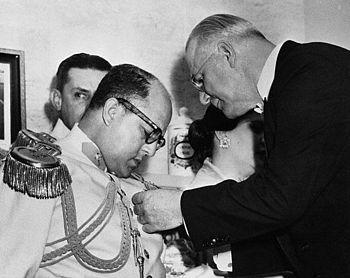 General Marcos Perez Jimenez medalla