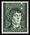 Generalgouvernement 1942 100 Nikolaus Kopernikus.jpg