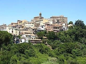 Genzano di Roma - Panorama of Genzano