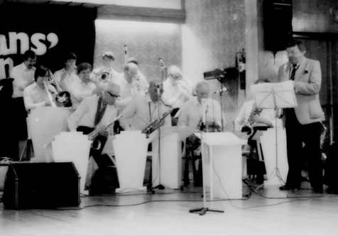 File:George Evans with Arthur Mowatt Big Band in 1984.tiff