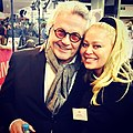 George Miller and Eva Rinaldi at the Baby Driver Premiere (35835091376).jpg
