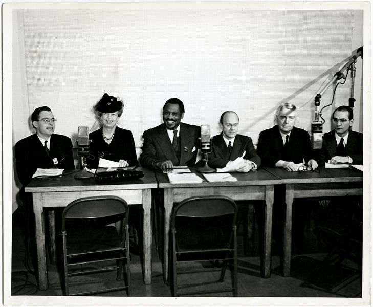 File:George Palmer with Prime Minister Walter Nash, Paul Robeson & Eleanor Roosevelt (9436897143).jpg
